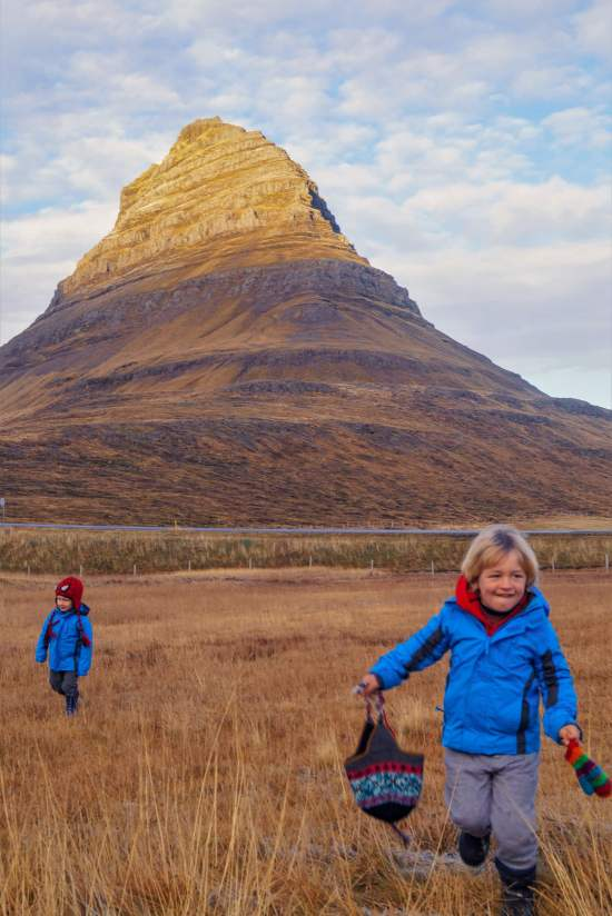 Iceland itinerary with kids