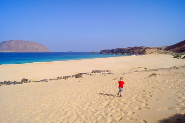Lanzarote with kids