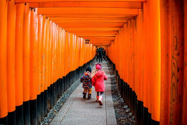 Kyoto with kids