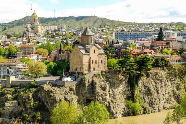 Places to visit in Europe in Summer - Tbilisi