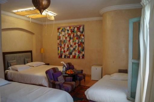 Riad Les Hibiscus bedroom