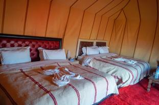Luxury Desert Camp bedroom