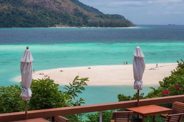 KohLipe view overlooking sea