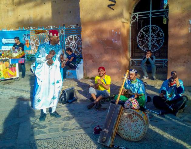 entertainers in Chefchaouen