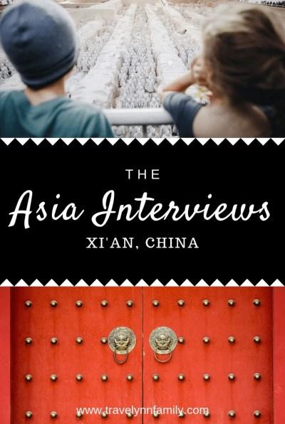 Xi'an with kids pin