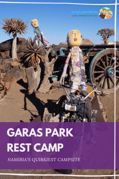 Garas Park Rest Camp pin