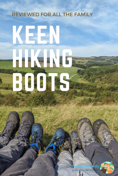 Keen Hiking Boots review pin
