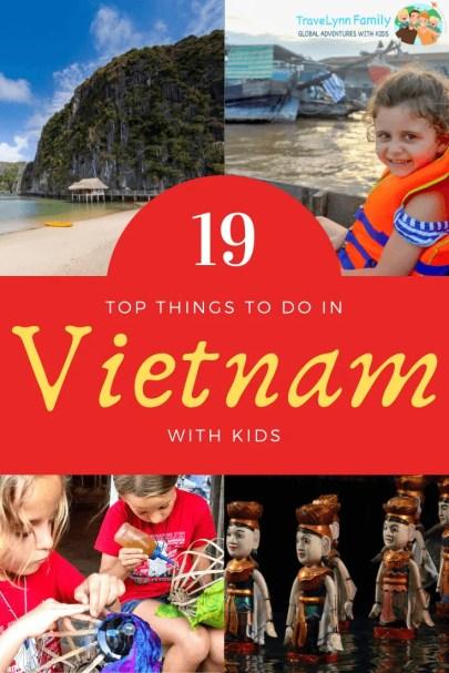 Vietnam with kids pin
