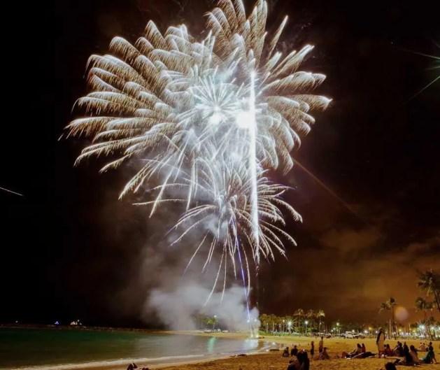 Honolulu Hawaii NYE celebrations