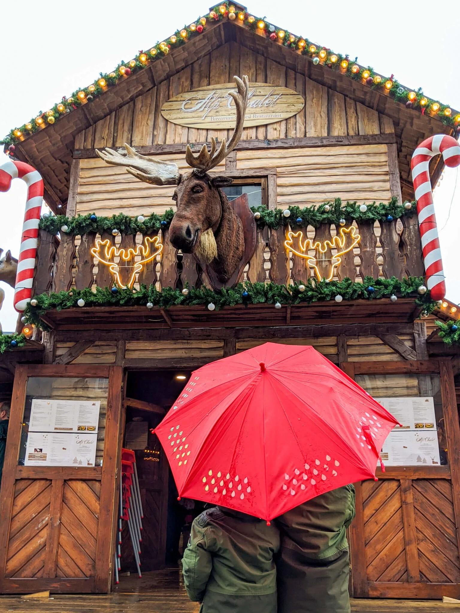 Leeds Christmas Markets moose