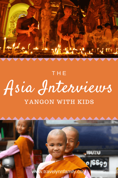Yangon with kids pin