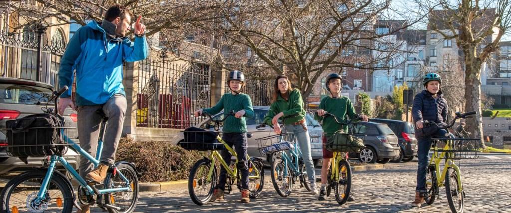 Gent bike tour with kids