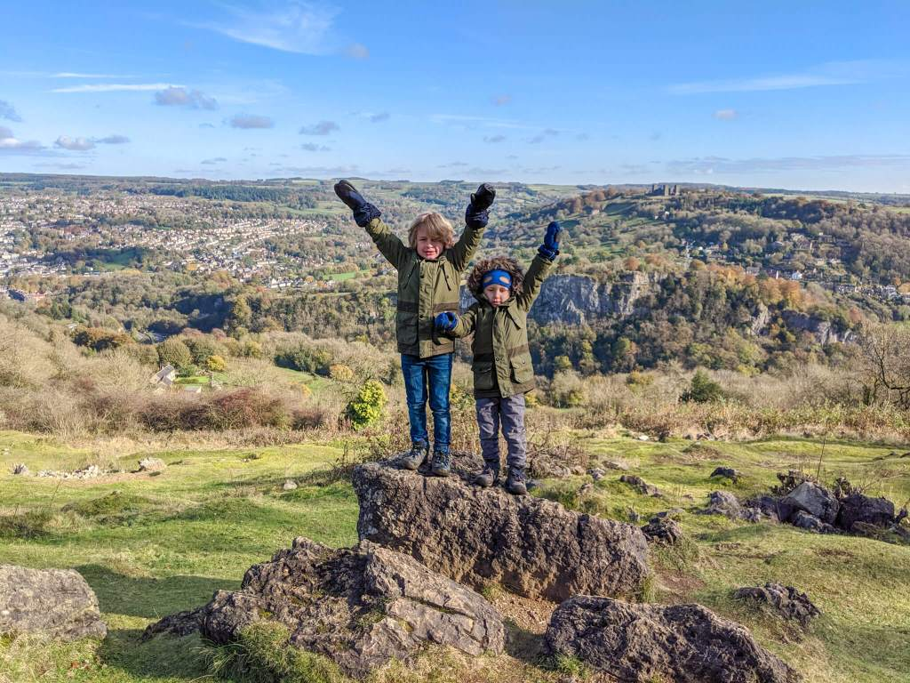 hiking with kids in the Peaks