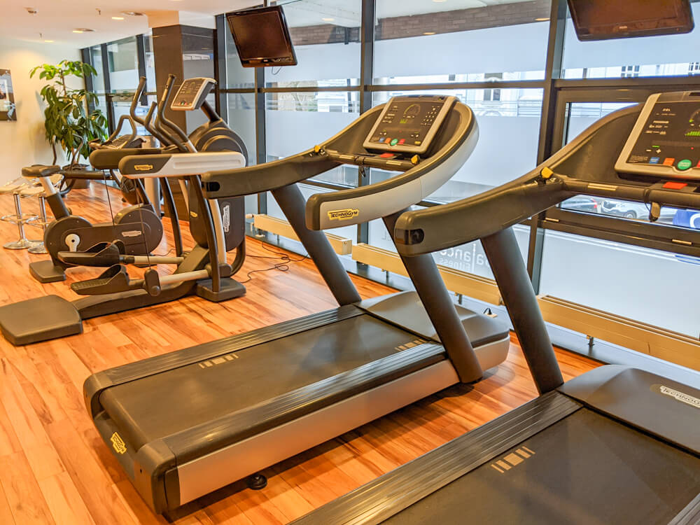 fitness centre at Novotel Hannover