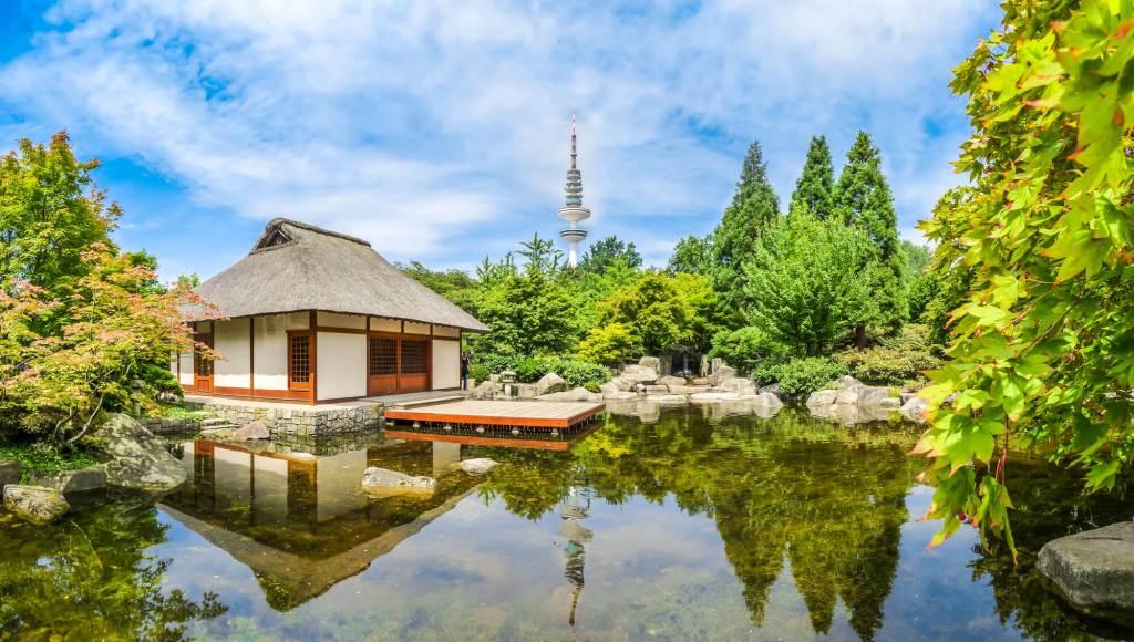 Japanese Garden in Planten um Blomen Hamburg