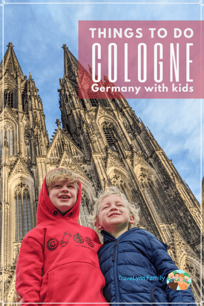 Cologne with kids pin