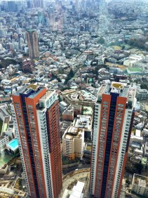 View from Roppongi Hills Tower