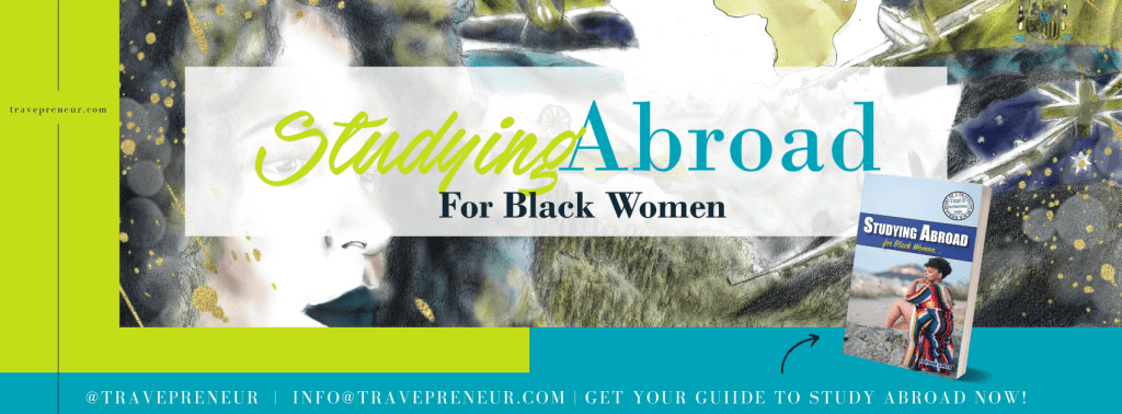 Studying Abroad for Black Women advertisement