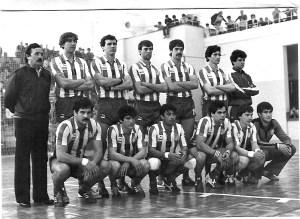 Uma foto do Atlético de Madrid tirada em 1982. Não sei se Sergio Somaio está nessa foto, se alguém reconhecê-lo, avise-nos!