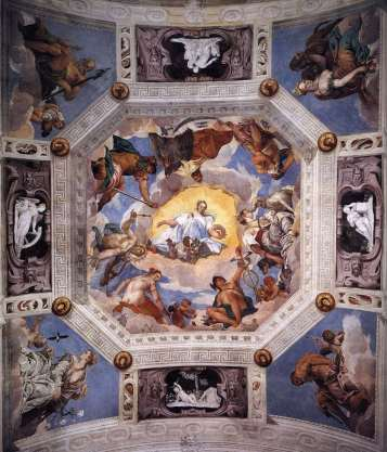 Paolo Veronese - Sala dell'Olimpo