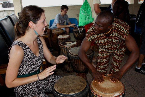 drum and dance workshop
