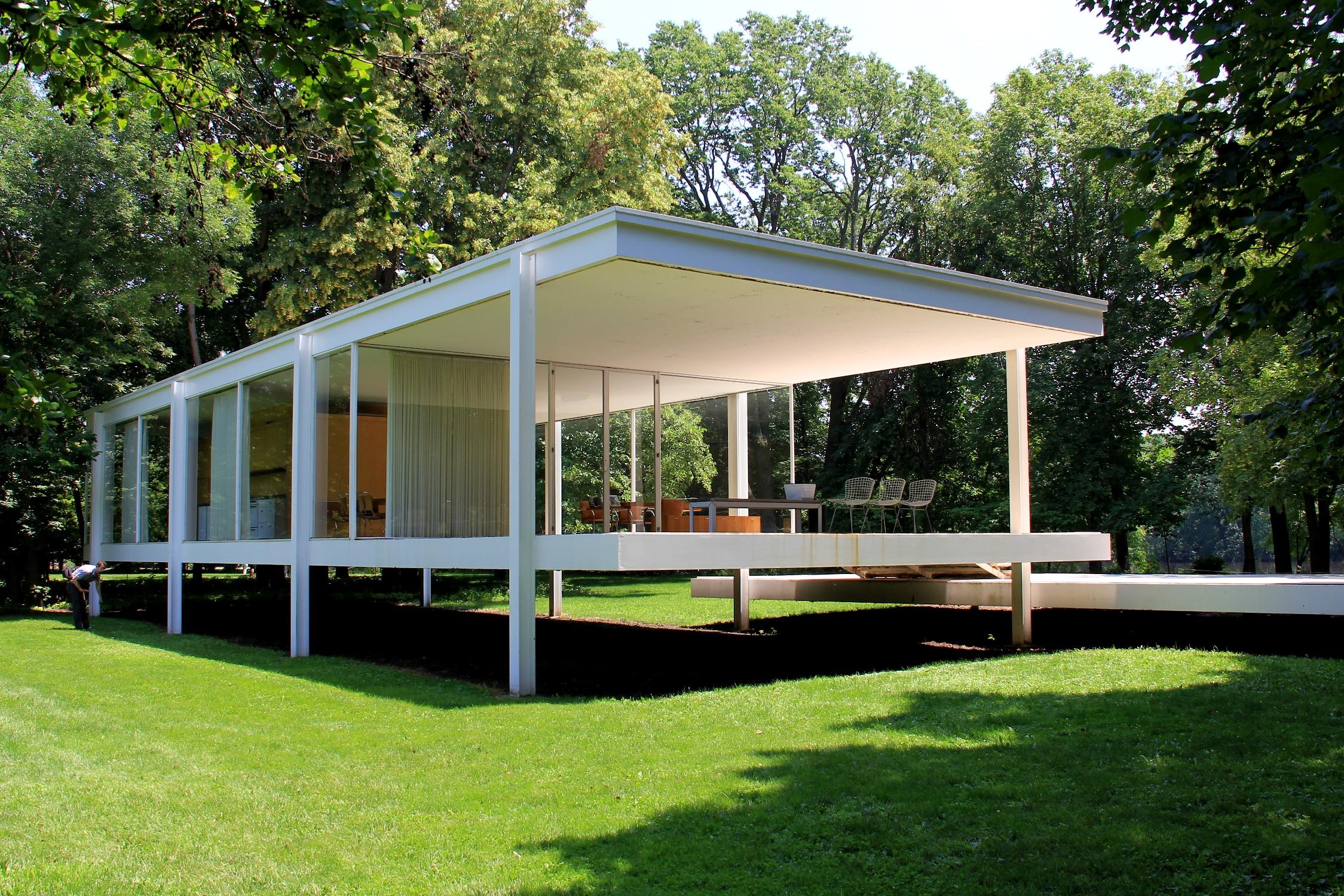 Farnsworth House 1951 Traverse360 Architecture