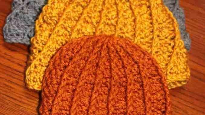 Crochet Texture Hat Crochet Baby Hat Free Crochet Pattern