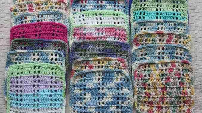 Free Crochet Dishcloth Pattern Crochet Kitchen Accessories Pattern
