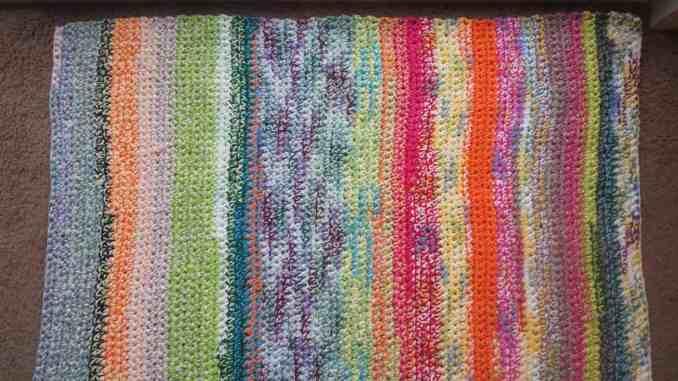 Crochet Rug Free Crochet Pattern Scrap Yarn Crochet Pattern Easy