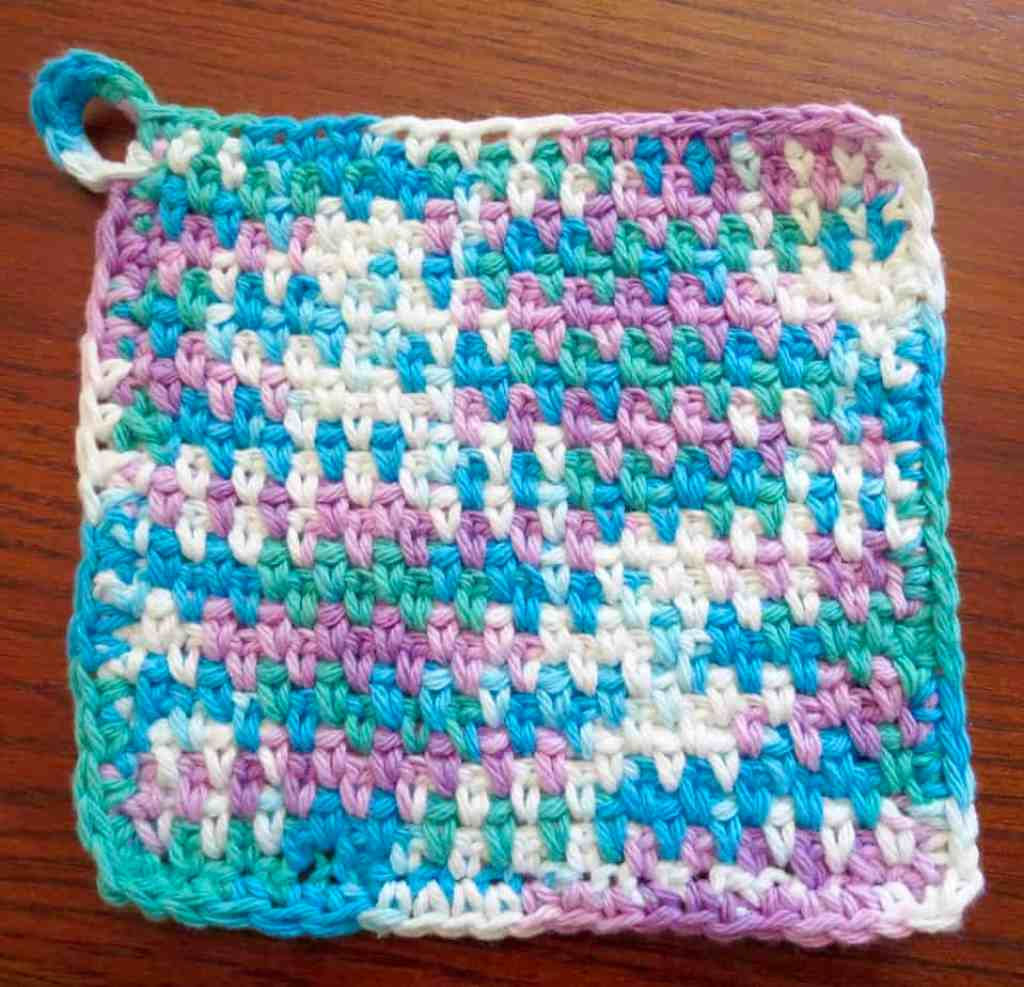 crochet dishcloth, free crochet pattern, crochet kitchen, for the ...