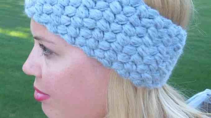 crochet headband, free crochet pattern, crochet head wrap, crochet ...