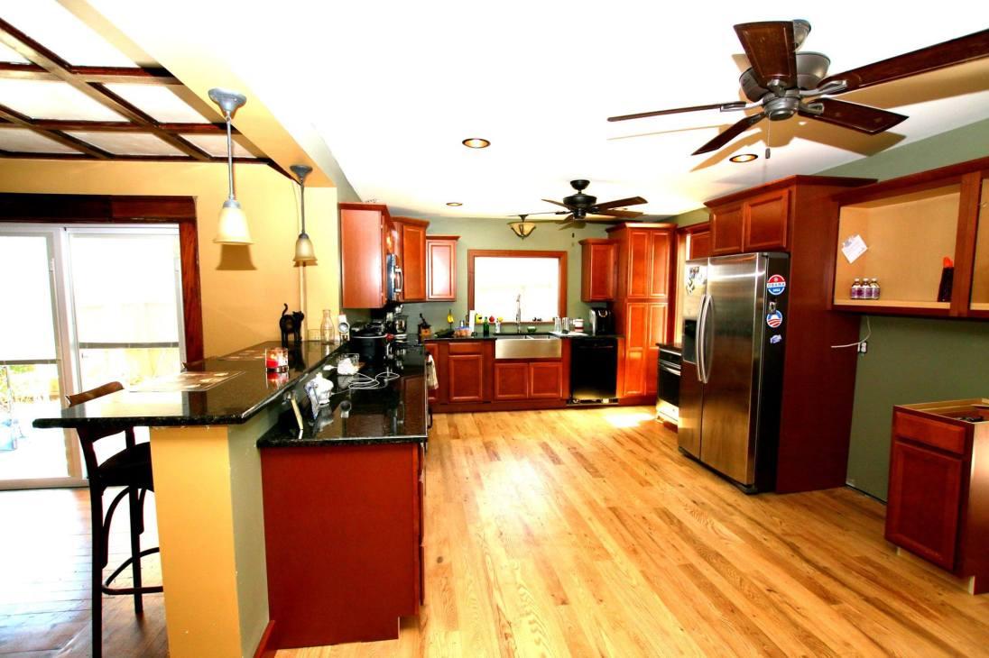 Character Grade White Oak Kitchen Remodel In Traverse City