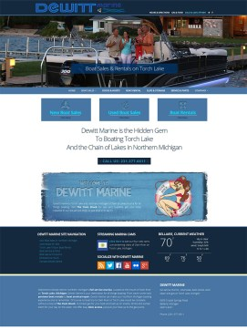 Dewitt-Marine-Web-Design-Michigan
