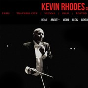 Michigan Web Designer - New site for Kevin Rhodes