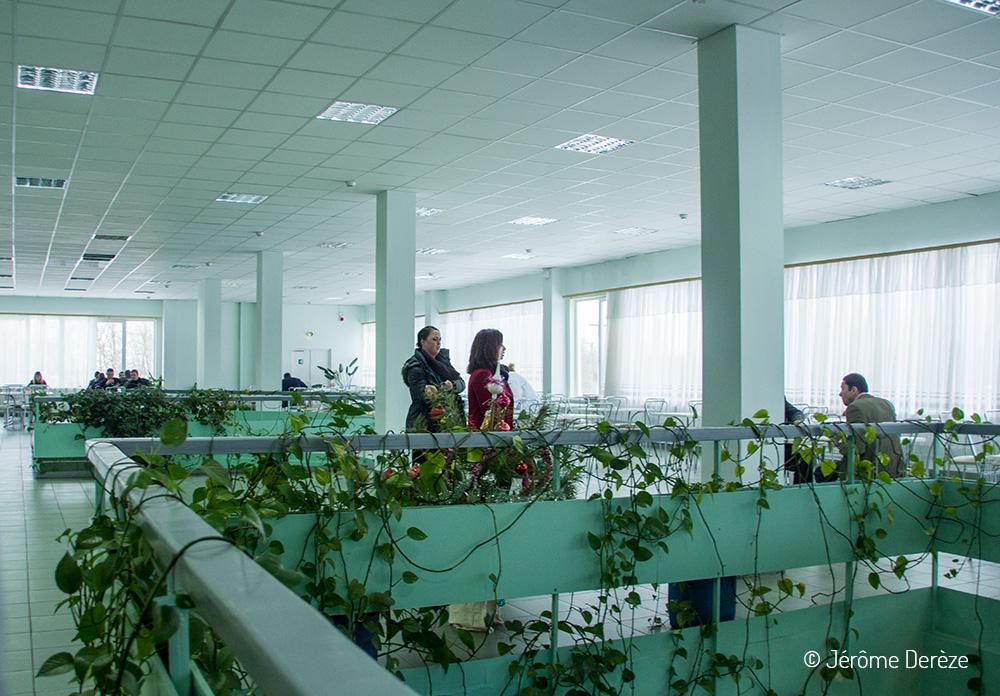 Voyager à Tchernobyl - Voyager à Prypiat - Cantine de Tchernobyl