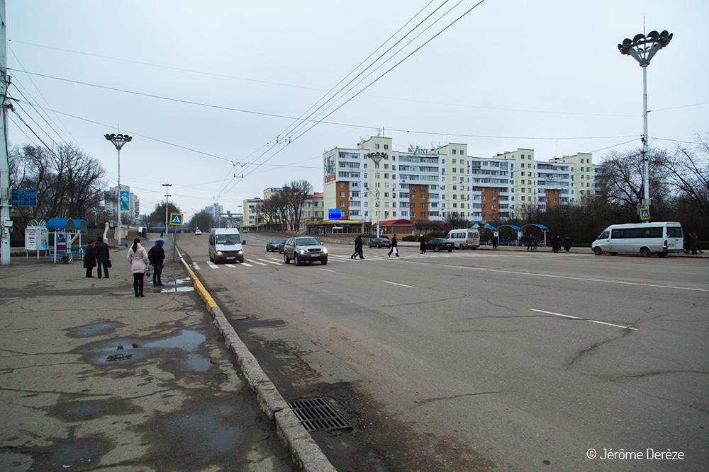 Voyager à Tiraspol