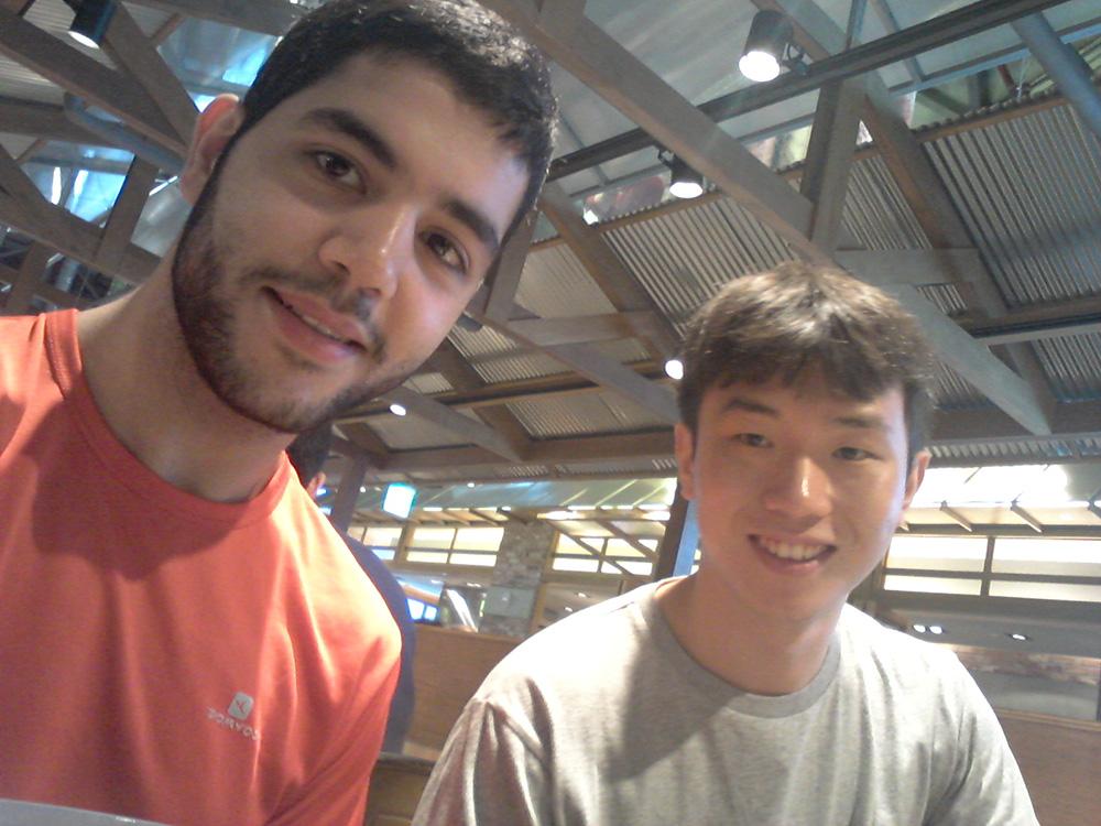 Faire du taekwondo en Corée du sud