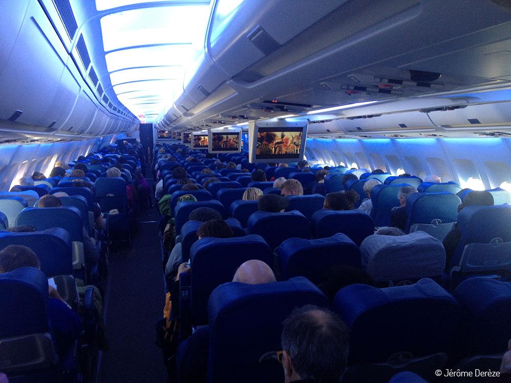 En vol pour le PVT Canada - Départ pour Montréal - Air Transat