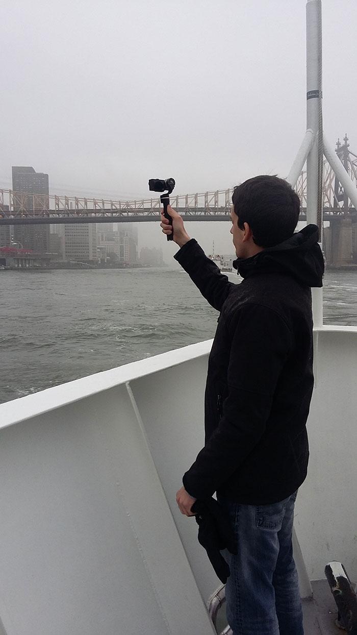 Faire de la vidéo en voyage