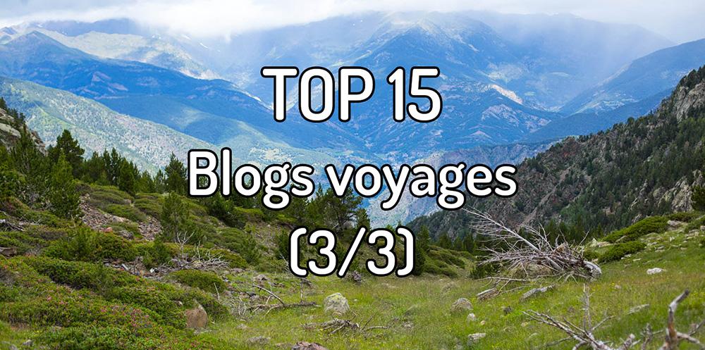 Top 15 Blogs voyages (3/3)