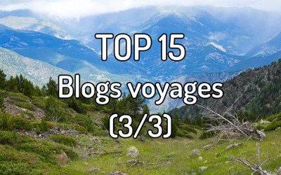 Top 15 Blogs voyages (3/3)