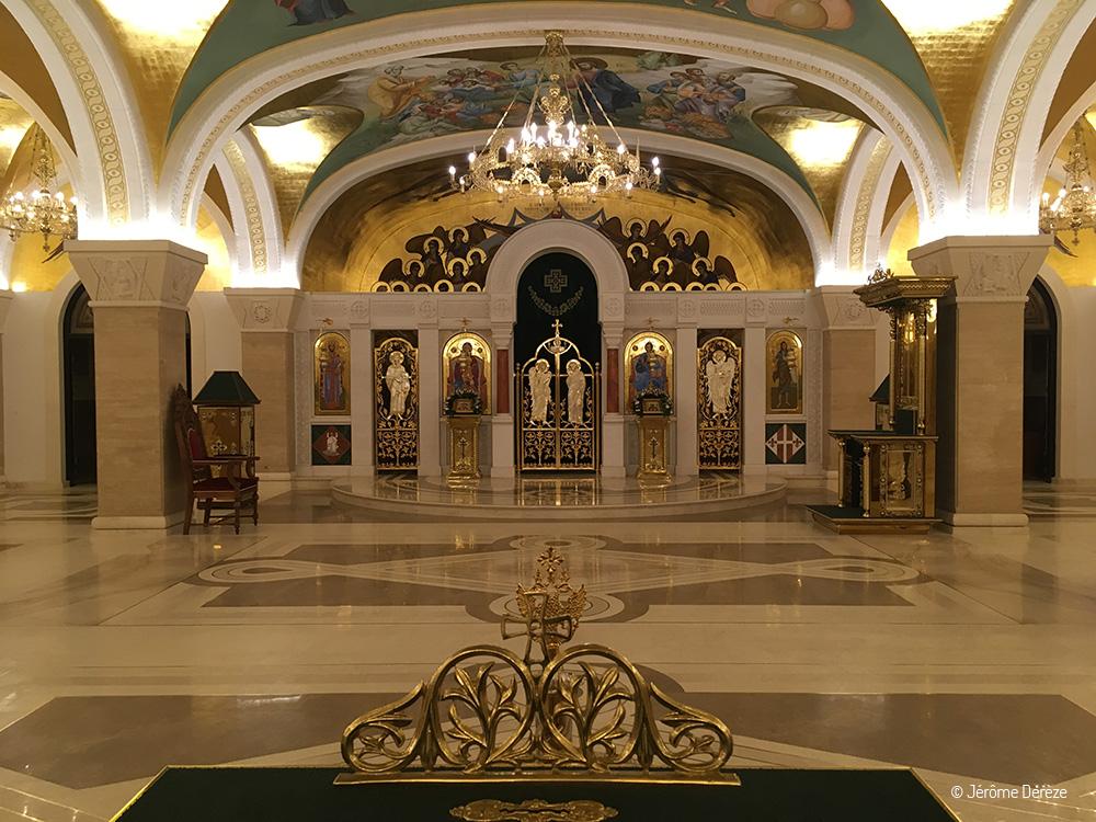Crypte de l'Eglise Saint-Sava de Belgrade