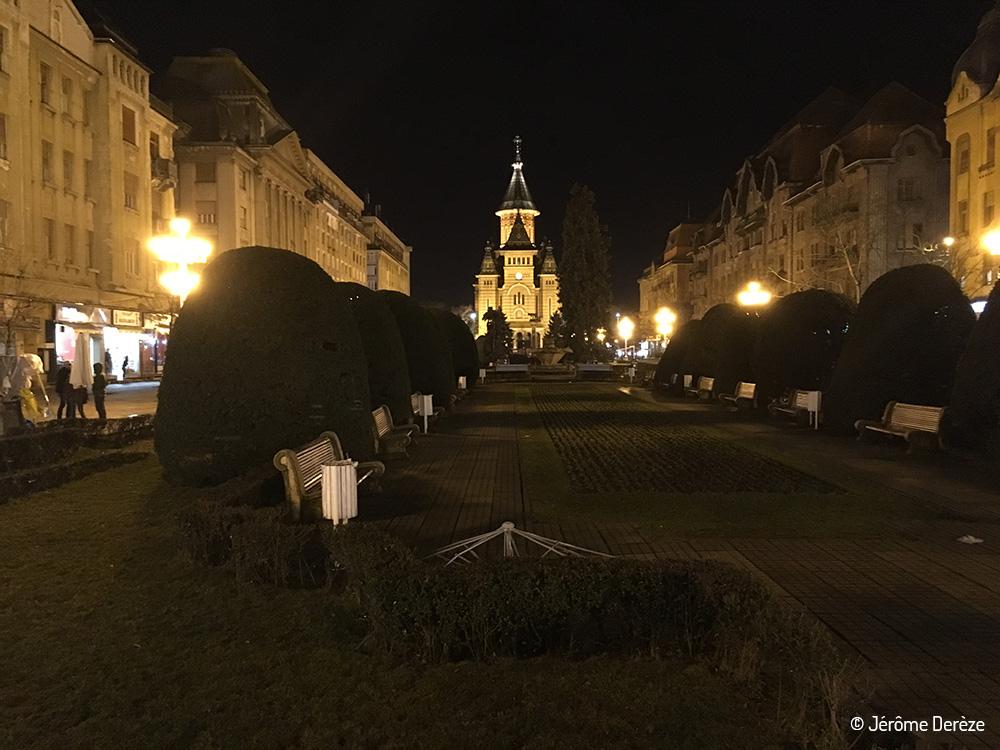 Visiter Timisoara - Victory square - Piata Victoriei