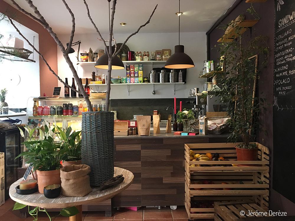 Manger à Cordoue - Restaurant vegan La Libelula Coffeeshop