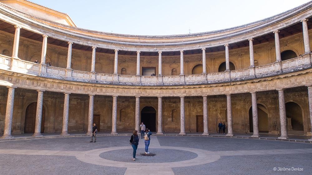 Visiter Palais Charles Quint à l'Alhambra