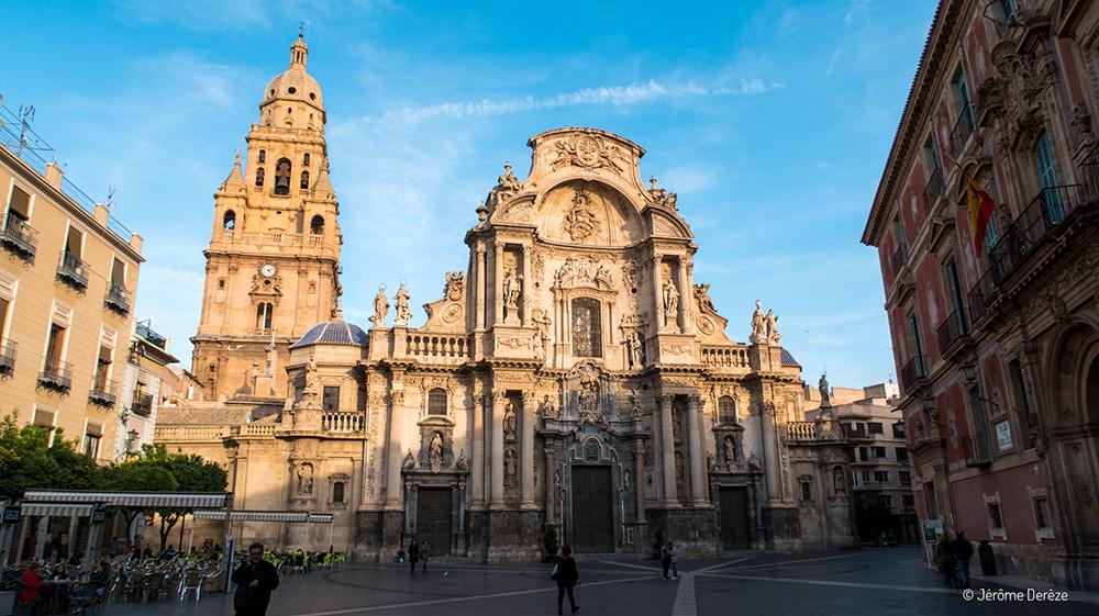Cathédrale de Murcia dans la région de Murcie