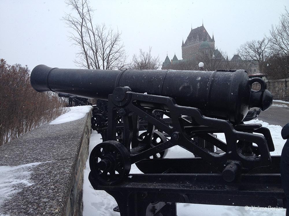 Fortifications de Québec ville et remparts