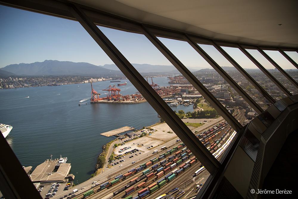 Vue depuis la Tour Vancouver LookOut