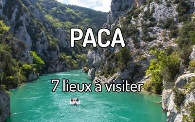 7 lieux à visiter dans la région PACA
