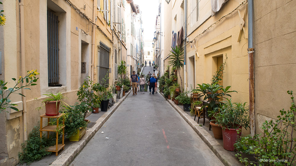 Visiter Marseille - Visiter le quartier du panier